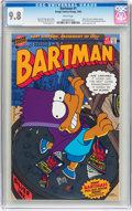 Modern Age (1980-Present):Cartoon Character, Bartman #1 (Bongo Comics Group, 1993) CGC NM/MT 9.8 White pages....