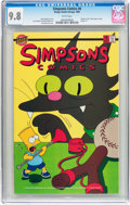 Modern Age (1980-Present):Humor, Simpsons Comics #8 (Bongo Comics Group, 1995) CGC NM/MT 9.8 Whitepages....