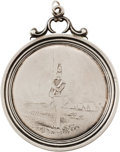 Military & Patriotic:Pre-Civil War, Absolutely Exquisite Solid Silver 1853 American Shooting Medal Presented To Syracuse Citizens Corps...