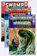 Bronze Age (1970-1979):Horror, Swamp Thing #1-10 Group (DC, 1972-73) Condition: Average VF....(Total: 10 Comic Books)