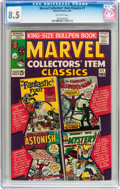 Silver Age (1956-1969):Superhero, Marvel Collectors' Item Classics #1 (Marvel, 1965) CGC VF+ 8.5Off-white pages....
