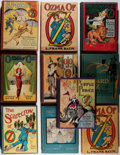 Books:Children's Books, [Wizard of Oz]. L. Frank Baum and Ruth Plumly Thompson. Group of 10Mostly Oz Related Later Printings. Generally good or bet... (Total:10 Items)