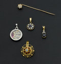 Estate Jewelry:Lots, Five Piece 18k Gold Lot. ... (Total: 5 Items)