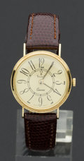 Timepieces:Wristwatch, VicencE 14k Gold Wristwatch. ...