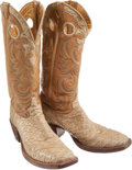 Miscellaneous, Western Apparel: Anteater Cowboy Boots. ...