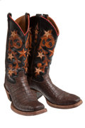 Miscellaneous, Western Apparel: Alligator Cowboy Boots. ...