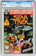 Modern Age (1980-Present):Science Fiction, Star Trek #6 (Marvel, 1980) CGC NM/MT 9.8 White pages....