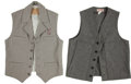 Miscellaneous, Western Apparel: Two Wool Vests. ... (Total: 2 Items)