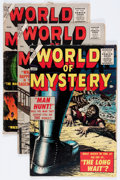 Golden Age (1938-1955):Horror, World of Mystery #1, 2, and 4 Group (Atlas, 1956).... (Total: 3Comic Books)
