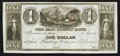 Obsoletes By State:Michigan, La Grange, MI - The Cass County Bank $1 Undated Remainder. ...