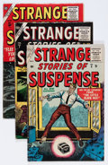 Golden Age (1938-1955):Horror, Strange Stories of Suspense Group (Atlas, 1955-57) Condition:Average VG.... (Total: 4 Comic Books)