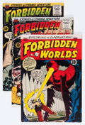 Golden Age (1938-1955):Horror, Forbidden Worlds #34, 36, and 37 Group (ACG, 1955) Condition:Average FN+.... (Total: 3 Comic Books)