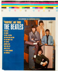 Music Memorabilia:Posters, Beatles Yesterday And Today Alternate LP Cover (Capitol2553, 1966)....