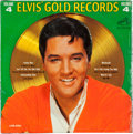 Music Memorabilia:Recordings, Elvis' Gold Records Volume 4 Mono LP (RCA LPM-3921,1968)....