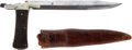 Edged Weapons:Knives, British Folding Bowie Knife by Mappin & Webb, Sheffield....