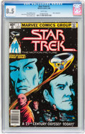 Modern Age (1980-Present):Science Fiction, Star Trek #1 and 4 CGC-Graded Group (Marvel, 1980).... (Total: 2Comic Books)