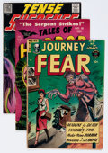 Golden Age (1938-1955):Horror, Comic Books - Assorted Pre-Code Horror Comics Group (VariousPublishers, 1950s) Condition: Average VG+.... (Total: 4 ComicBooks)