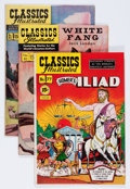 Golden Age (1938-1955):Classics Illustrated, Classics Illustrated Group (Gilberton, 1950s) Condition: AverageFN-.... (Total: 15 Comic Books)