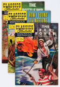 Golden Age (1938-1955):Classics Illustrated, Classics Illustrated Group (Gilberton, 1950s) Condition: Average FN/VF.... (Total: 22 Comic Books)