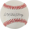 Autographs:Baseballs, Bill Terry Single Signed Baseball. ...