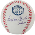 "Autographs:Baseballs, George M. Steinbrenner ""The Boss"" Single Signed Baseball. ..."