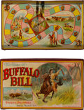 Western Expansion:Cowboy, William F. (Buffalo Bill) Cody: Parker Brothers Board Game....