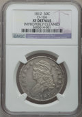 Bust Half Dollars: , 1812 50C -- Improperly Cleaned -- NGC Details. XF. O-104. NGCCensus: (49/632). PCGS Population (111/613). Mintage: 1,628,...