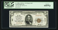 National Bank Notes:Pennsylvania, Altoona, PA - $5 1929 Ty. 1 The First NB Ch. # 247. ...