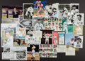 Autographs:Photos, Baseball Greats Signed Photographs Lot Of 29 (Over 40 Sig's.)....