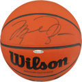 Basketball Collectibles:Balls, Michael Jordan Signed Basketball (UDA Hologram)....