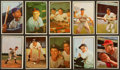 Baseball Cards:Sets, 1953 Bowman Color Baseball Partial Set (86/160) Including 29 Midand High Series Cards. ...