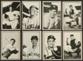 Baseball Cards:Sets, 1953 Bowman Black And White Baseball Partial Set (21/64) With Stengel. ...