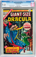 Bronze Age (1970-1979):Horror, Giant-Size Dracula #5 (Marvel, 1975) CGC NM/MT 9.8 Off-whitepages....