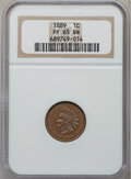 Proof Indian Cents: , 1889 1C PR65 Brown NGC. NGC Census: (86/38). PCGS Population(32/5). Mintage: 3,336. Numismedia Wsl. Price for problem free...