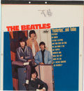 Music Memorabilia:Memorabilia, Beatles Yesterday and Today Unused Album Cover Color KeyProof (Capitol Records, 1966)....