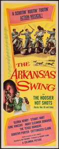 "Movie Posters:Musical, The Arkansas Swing (Columbia, 1948). Insert (14"" X 36""). Musical....."