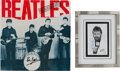 Music Memorabilia:Autographs and Signed Items, Beatles Ringo Starr and Pete Best Signed Group... (Total: 4 Items)