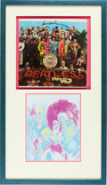 Music Memorabilia:Autographs and Signed Items, The Beatles' Paul McCartney Signed Sgt. Peppers Lonely HeartsClub Band Cover. ...