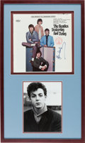 Music Memorabilia:Autographs and Signed Items, Paul McCartney Autographed The Beatles Yesterday and TodayLP (Capitol 2553)....