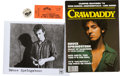 Music Memorabilia:Autographs and Signed Items, Bruce Springsteen Vintage Memorabilia Group (1970s).... (Total: 3Items)