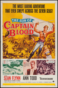 """The Son of Captain Blood (Paramount, 1963). One Sheet (27"""" X 41""""). Swashbuckler"""