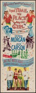 """Movie Posters:Musical, The Time, the Place and the Girl (Warner Brothers, 1946). Insert(14"""" X 36""""). Musical.. ..."""
