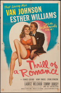"""Thrill of a Romance (MGM, 1945). One Sheet (27"""" X 41""""). Musical"""