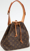 Luxury Accessories:Bags, Louis Vuitton Classic Monogram Canvas Petit Noe Shoulder Bag. ...