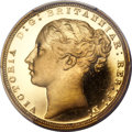Great Britain, Great Britain: Victoria gold Proof Sovereign 1871,...