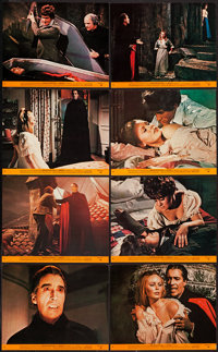 "Dracula Has Risen from the Grave (Warner Brothers, 1969). Mini Lobby Card Set of 8 (8"" X 10""). Horror. ... (To..."