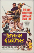 "Movie Posters:Adventure, Revenge of the Gladiators (Paramount, 1964). One Sheet (27"" X 41"").Action.. ..."