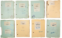A Lon Chaney-Related Collection of Silent Era Film Scripts, 1920s