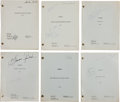 """Movie/TV Memorabilia:Documents, A Sandra Gould Collection of Personally-Owned Scripts from """"Bewitched.""""..."""