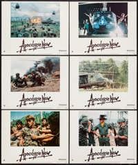 "Apocalypse Now (United Artists, 1979). Regular & Deluxe Lobby Cards (11) (11"" X 14"") and Program (7&qu..."